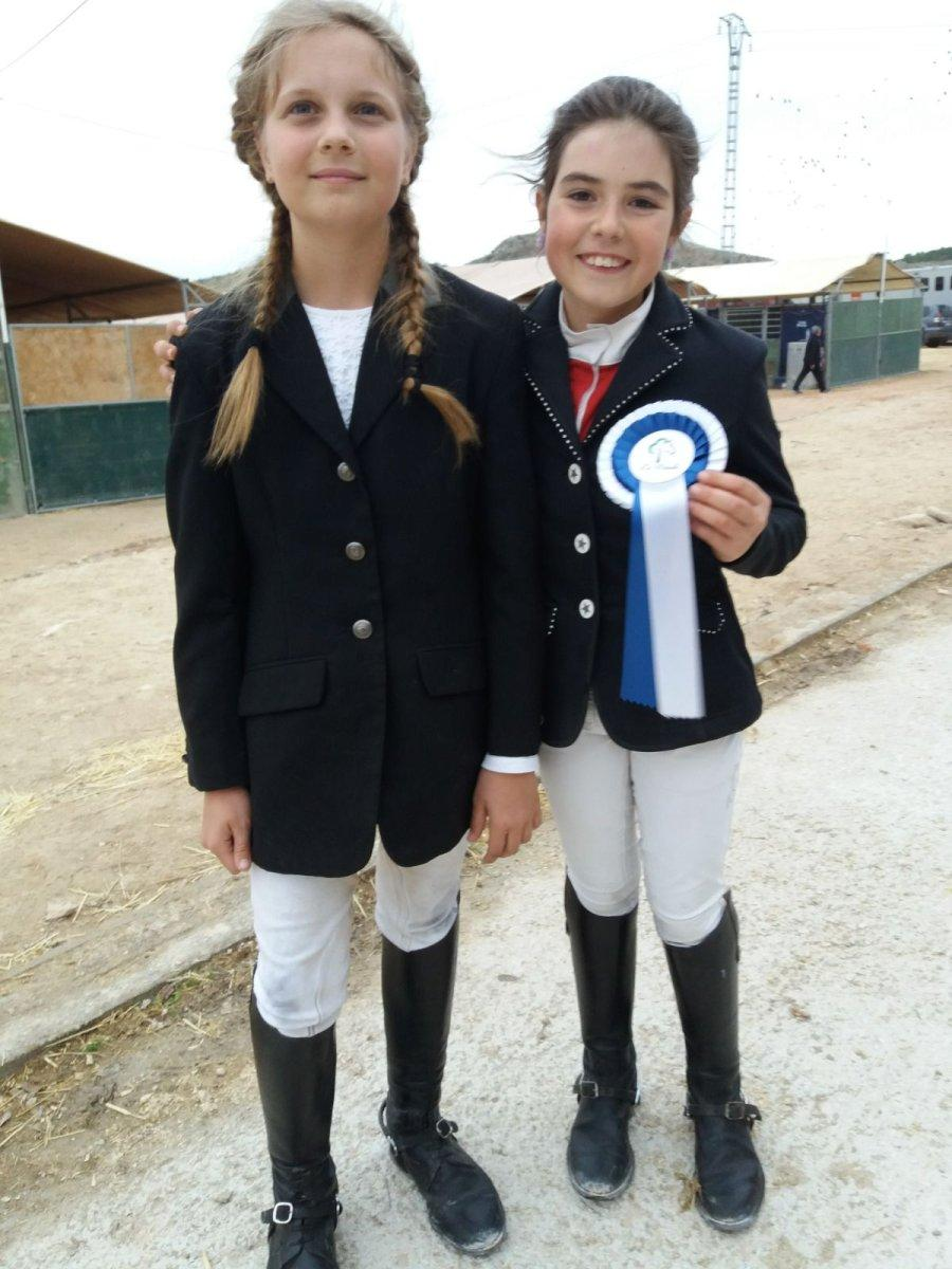 The meeco Equestrian Team at the CSN 2* event in Elche.